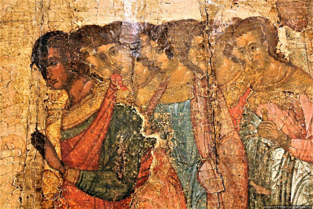 Фрагмент древней иконы. Н
