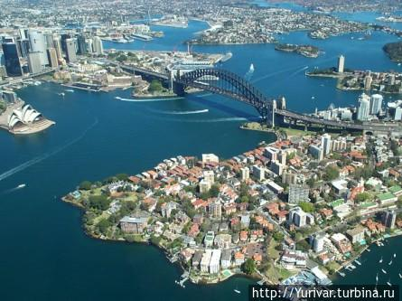 Центральная часть Сиднейс