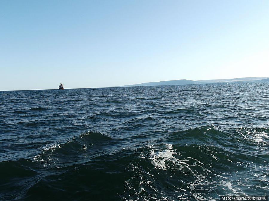 Мы правим в открытое море