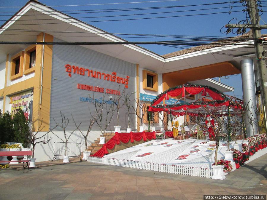 Прогулка по городу Ясотхону Ясотхон, Таиланд