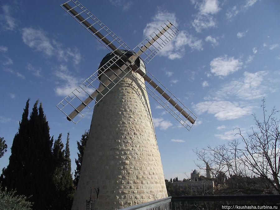 мельница Монтифиори в районе Мишкенот Шананим