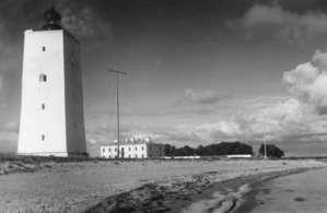 Старый маяк, 1930-й год. Был разрушен в 1944-м.
