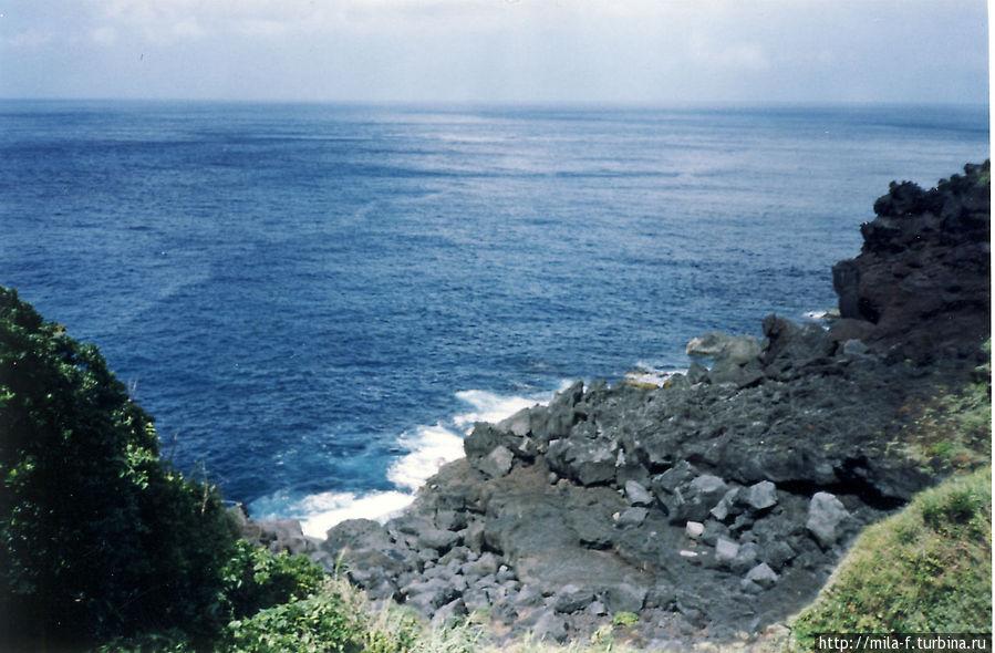 Вид на океан из