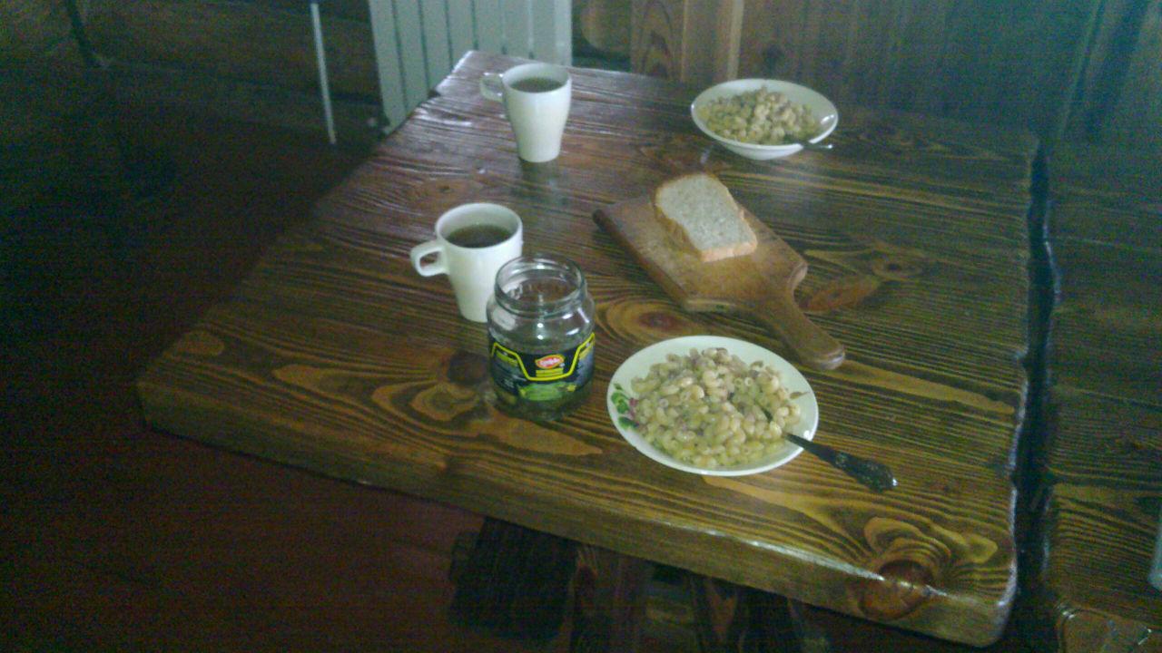 Наш скромный обед