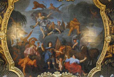 Потолочные росписи зала Карла XI