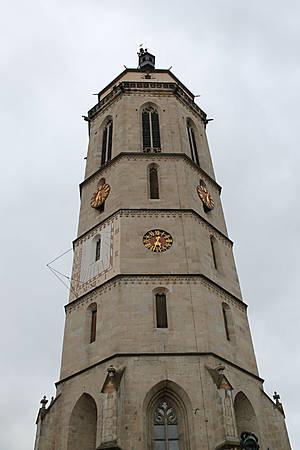 Башня протестантской церкови