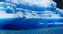 на отколовшихся от ледников массивах