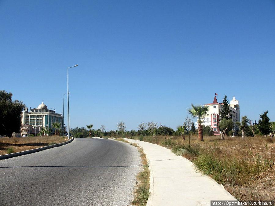 Турция Сиде отели 4 звезды первая линия все включено