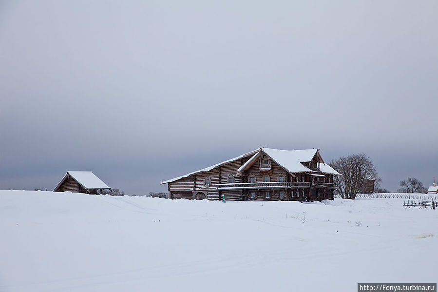 Зимняя сказка в Карелии Кижи, Россия