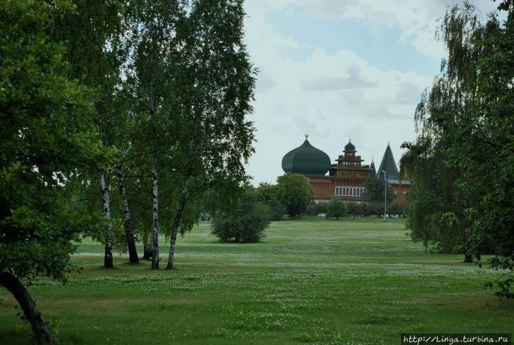 Из Коломенского до Дворца