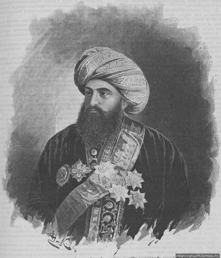 Бухарский эмир Сеид Абдул-Ахад-хан (фото из Интернета)