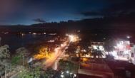 Вид на Велигаму с ресторана на крыше