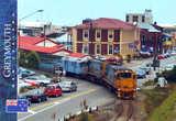 Вокзал Греймута. Поезд Tranzalpine отправляется в обратный путь