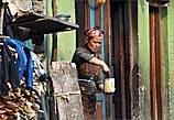 В лицах многих тамангов в селении Сябру Беси угадывались монголо-тибетские черты
