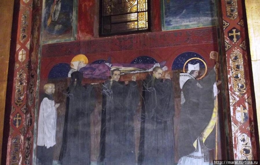«Погребение Святого Одилона»