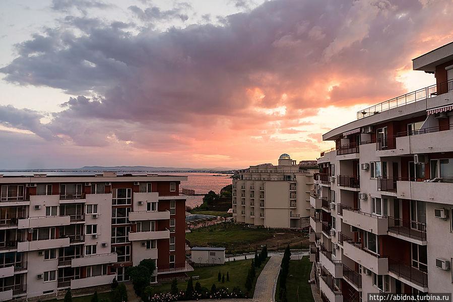 Закатные вечера в Святом Власе Свети-Влас, Болгария