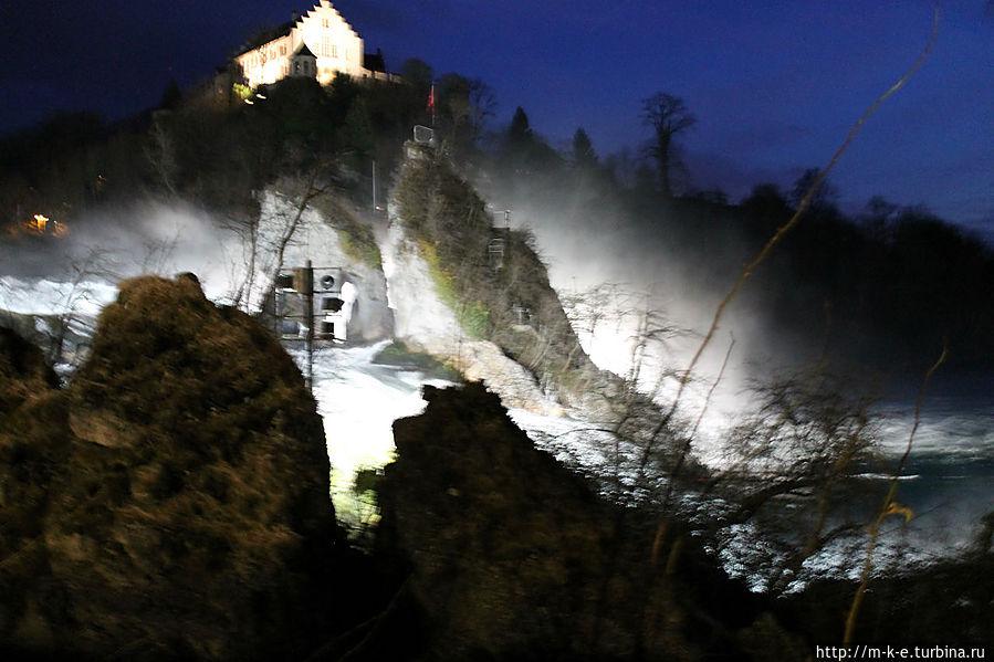 Смотровая площадка на скале Шаффхаузен, Швейцария