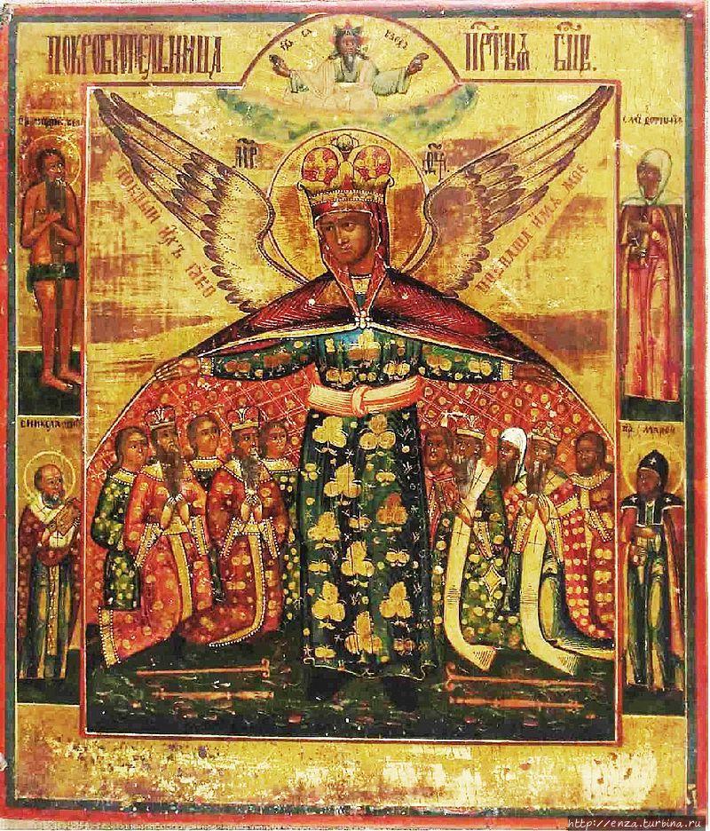 Икона Божией Матери Покро
