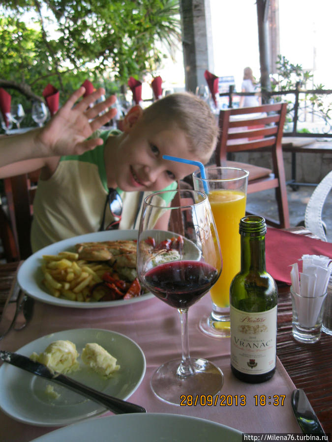 Местное вино — Вранац