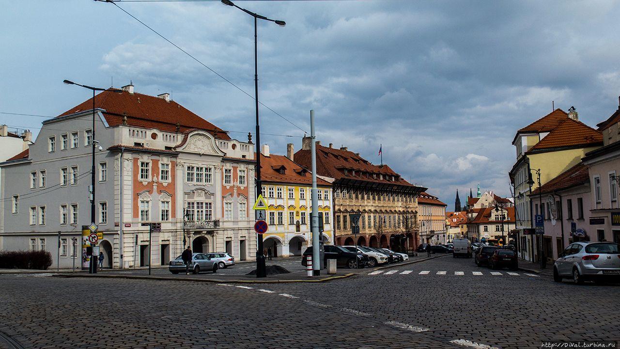 В двух шагах от Пражского Града