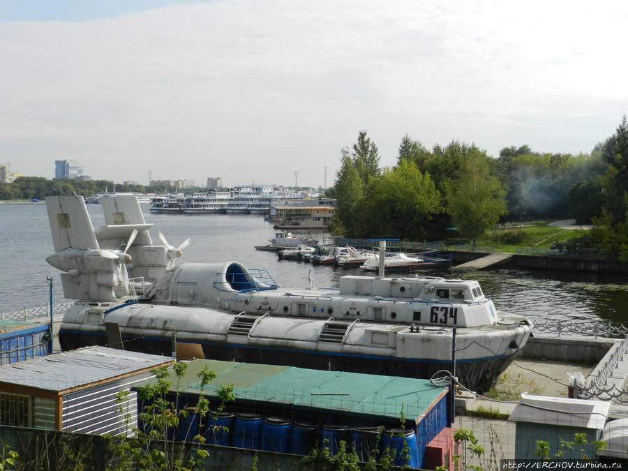 лодка музей москва