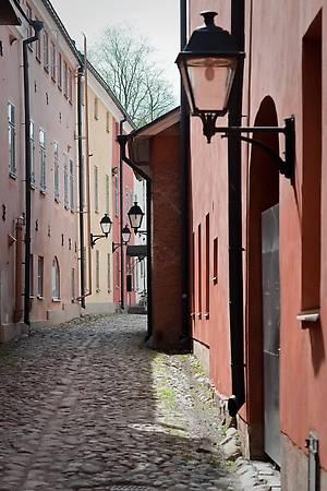 Старые улочки Турку сохранили романтическое очарование старины