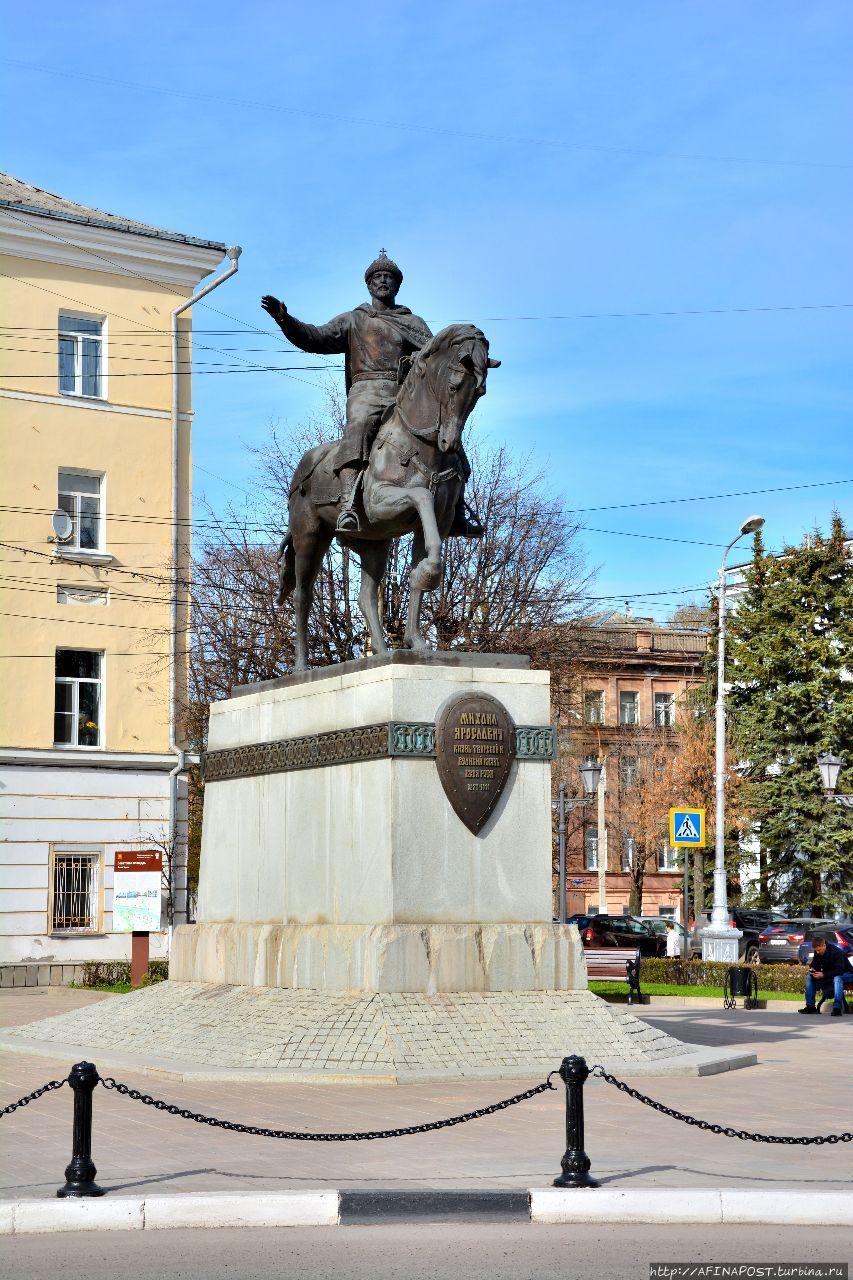 Тверь. Князь Михаил Ярославич — небесный покровитель города