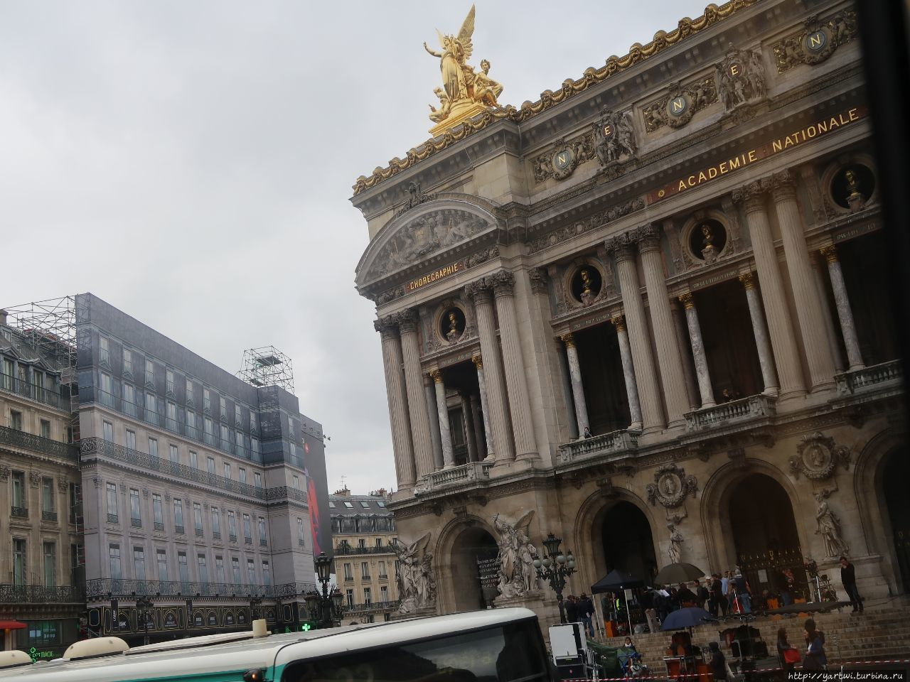 Парижской Гранд-Опера так