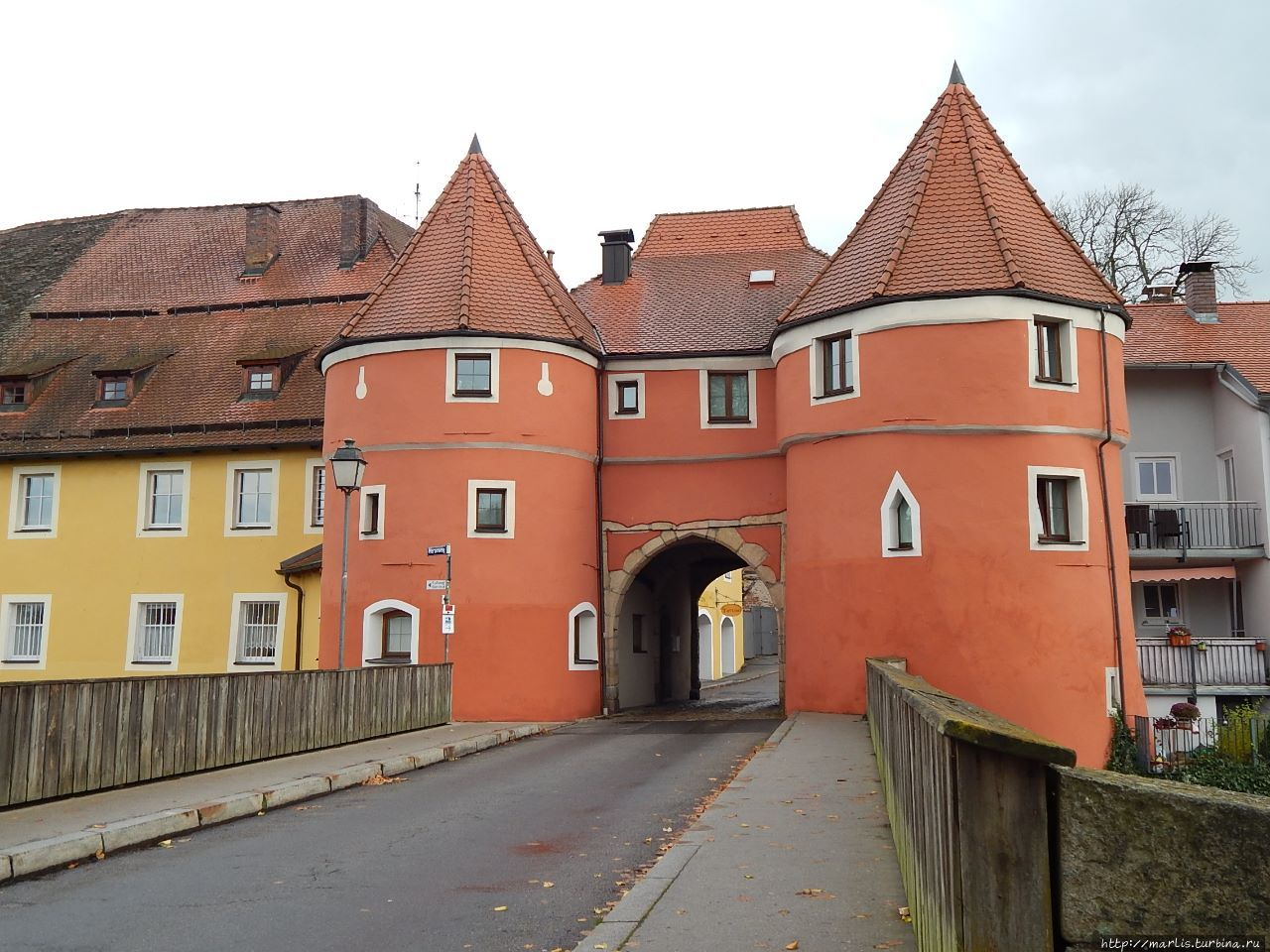 Пивные ворота — то, что осталось от крепостной стены. Кам, Германия