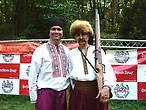 Ведущие Феестиваля Юрась и Андрей
