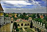 С высоты башен замка открывается замечательная панорама окрестностей.