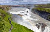 А вот так выглядит водопад в ясную погоду (из интернета)