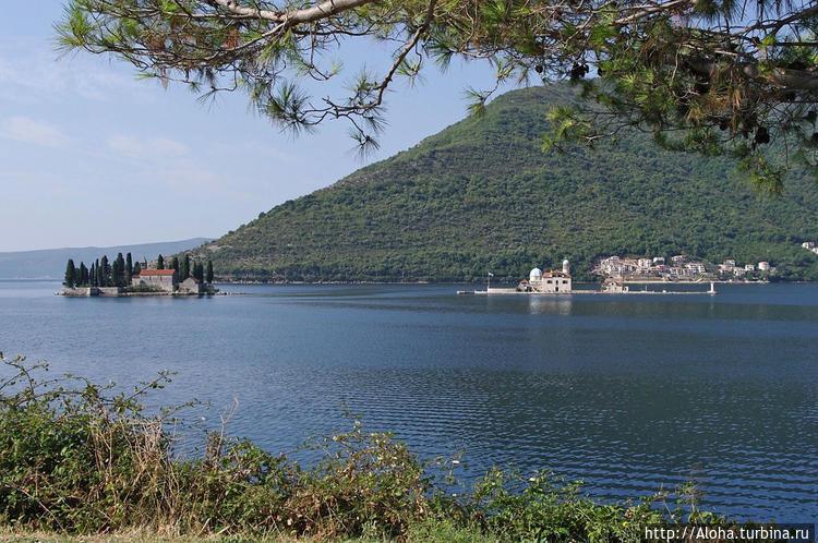 Вид на острова.