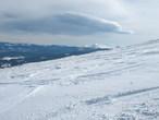 Вид с горы Жандарм. Куда-то в сторону Петроса...