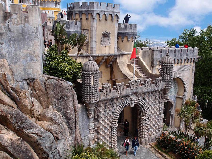 Для сравнения — один из ракурсов дворца Пена