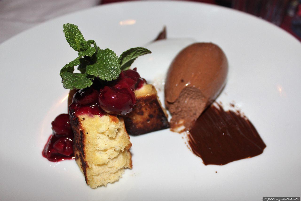 ресторан 1070  десерт