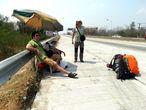 Последний автостоп в Таиланде.