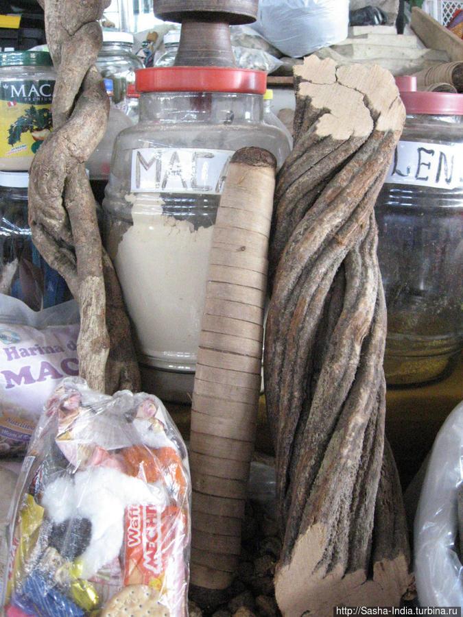 Так выглядит лиана айяуаска в засушенном виде