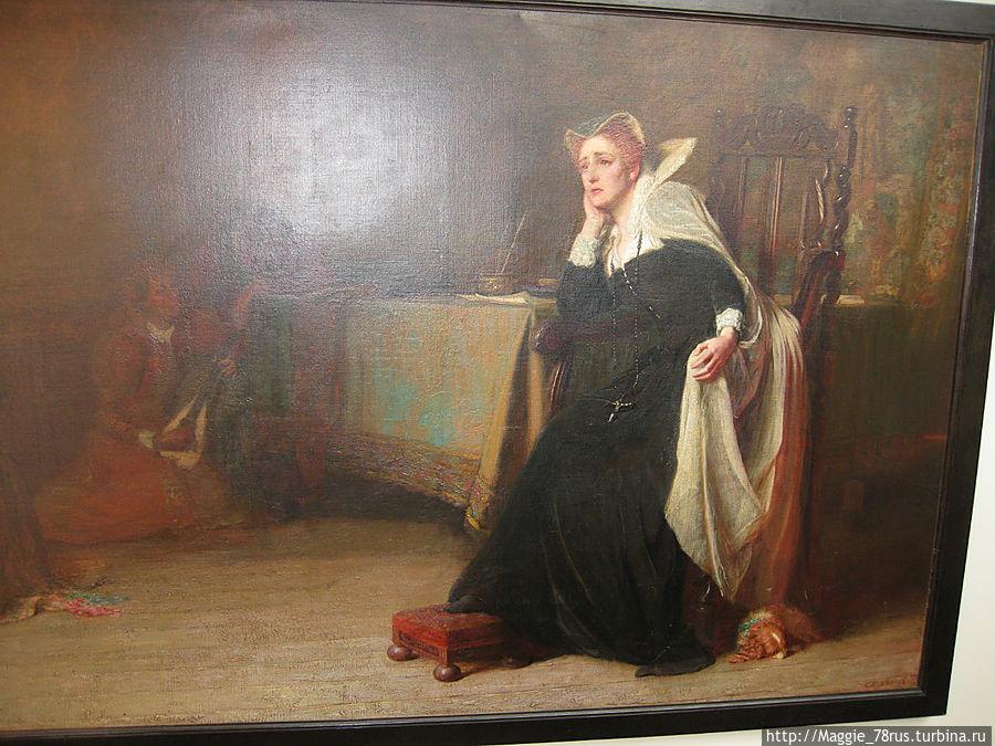 Портрет Марии Стюарт
