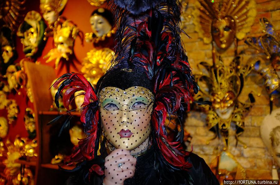 Эту маску я купила за 80 евро