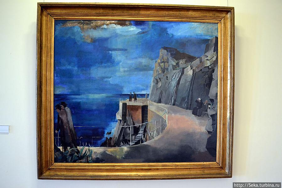 Бернат Аурел. Ривьера, 1926-1927