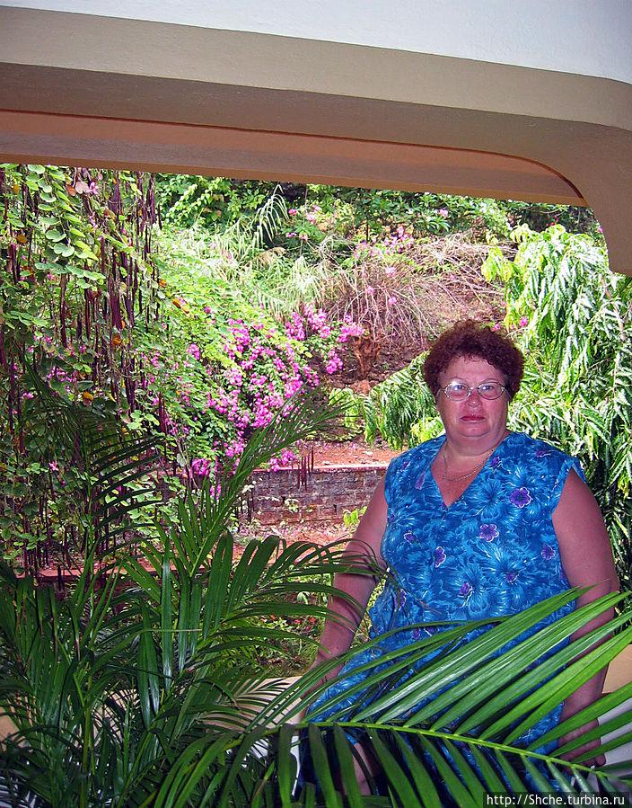вид с балкона в номере у мамы