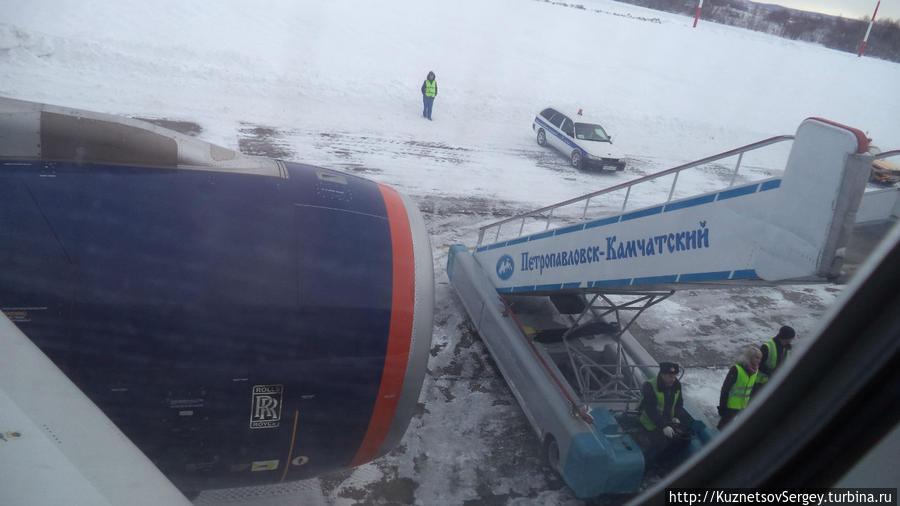Аэропорт Елизово Петропавловска