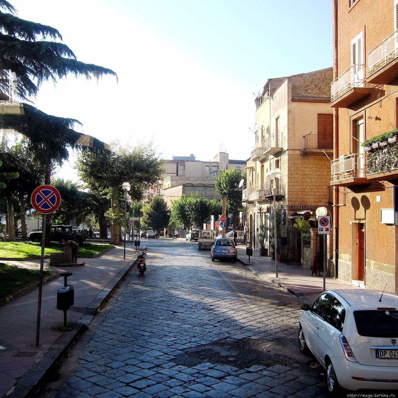 Спящий город —  Пьяцца Армерина Пьяцца-Армерина, Италия