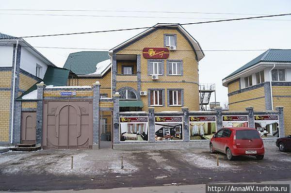 Так отель выглядит с улицы Зеленодольской