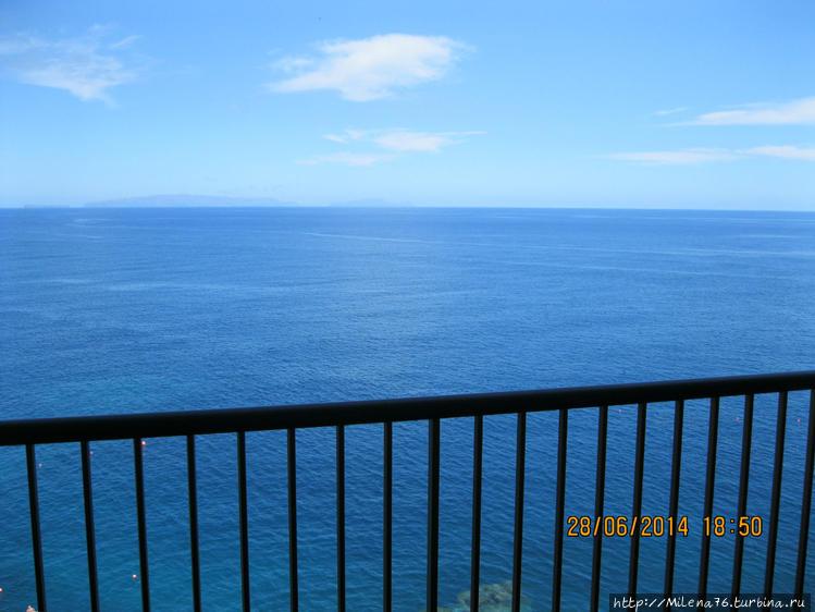 Океан с балкона