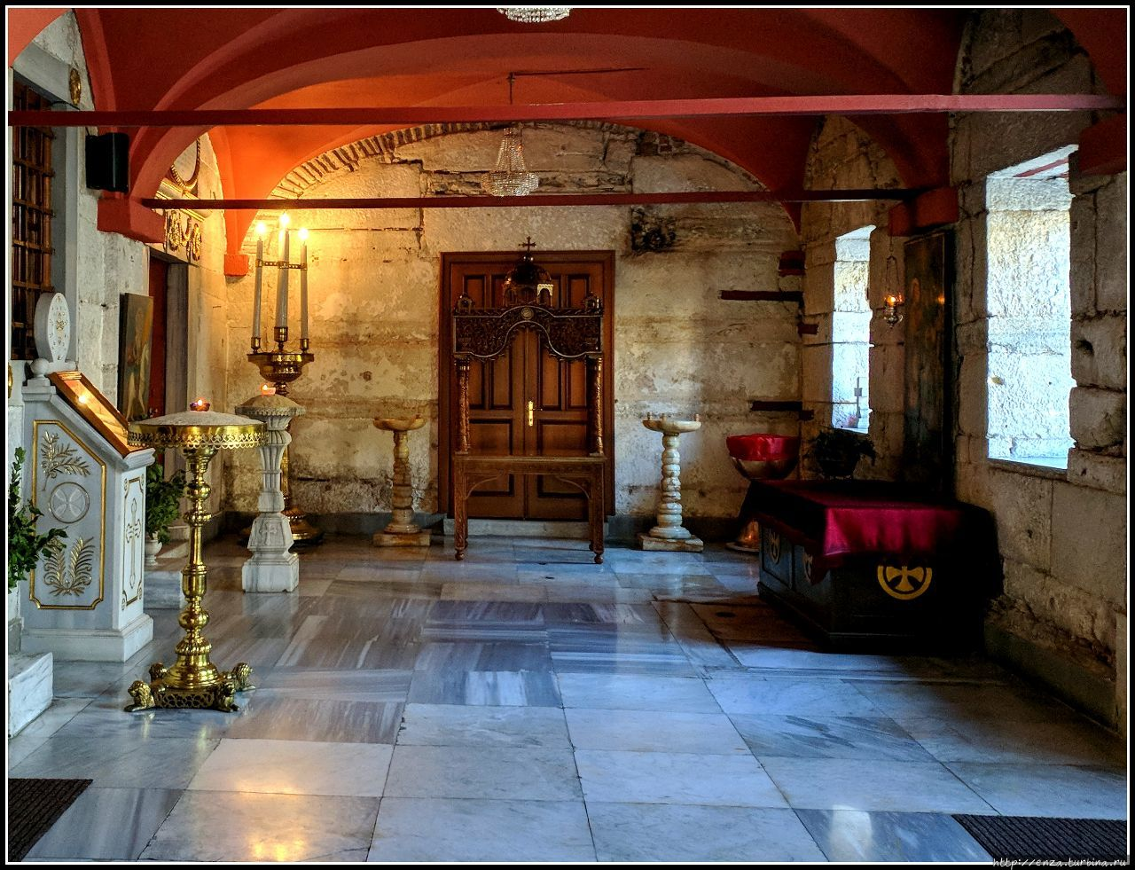 Православный монастырь Богоматери Балыклы Стамбул, Турция