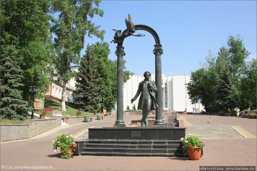 6. Памятник А.С. Пушкину,
