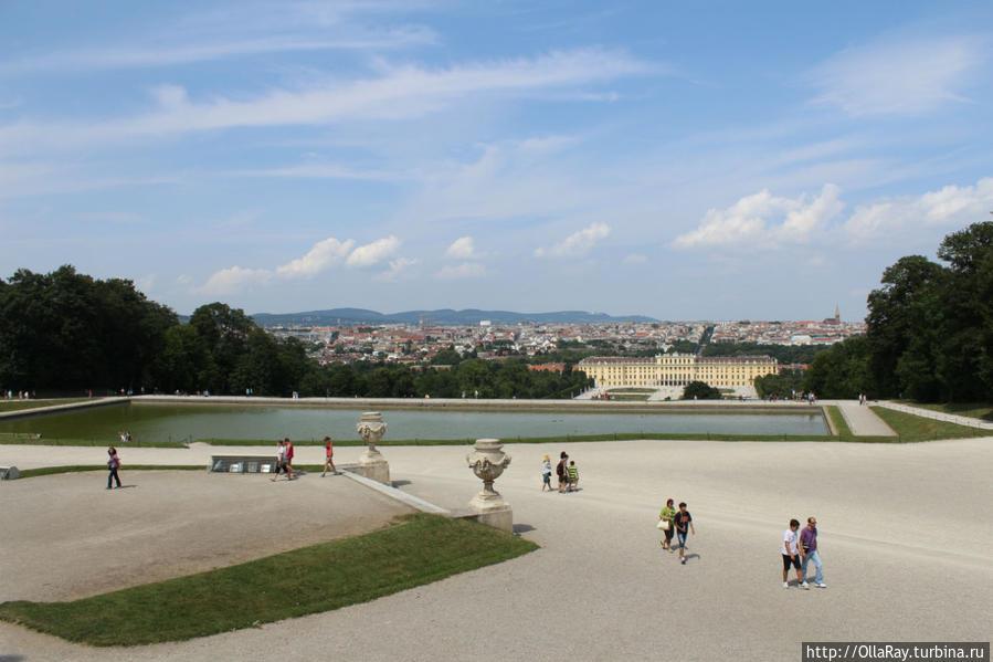 Вид на дворец от Глориетты