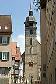 Торговая площадь.Городская церковь.
